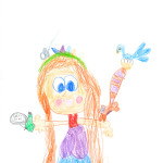 Faustine, Gagnebin, Bussigny, 7 ans