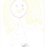 Anaïs Niedbala, Martigny, 4 ans
