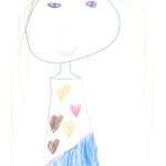 Coline Jaquier, Vuadens, 5 ans