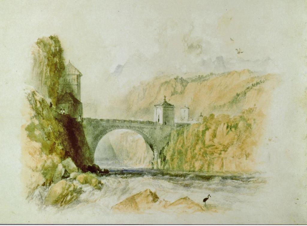 Peinture du Château par William Turner
