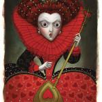 La-reine-d'Alice-au-Pays-des-Merveilles--par-Benjamin-Lacombe,-édtions-Soleil--2015